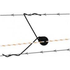 Gallagher Afstandisolator draad zwart 30 cm ( 25 stuks)