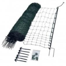 Gallagher Kippennet, 112 cm, 1-15, 50 m, groen (enkele pen)