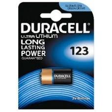 Duracell batterij 123 3 volt