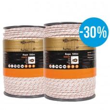 TurboLine cord (wit of terra, duopack 2x 500 meter)