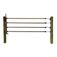 Gallagher  Meerdraadse doorgangsset 4 x 40mm lint terra, 6m