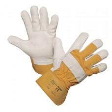 Lederen Handschoen Yelltor