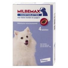 Milbemax kauwtablet hond klein 12 g 4 stuks Kip