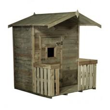 Kinderhuisje Tommie met veranda