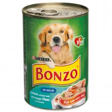 Bonzo Blik senior vlees en groenten