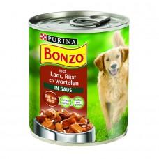 Bonzo Blik lam & rijst & wortel
