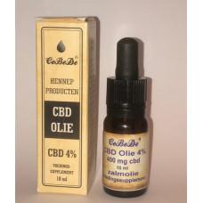 CBD Olie 4% Zalm