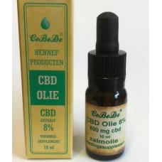 CBD Olie 8% Zalm