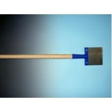 Betonschraper 15 cm. met steel van 130 cm