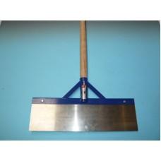 Betonschraper 50 cm. met steel