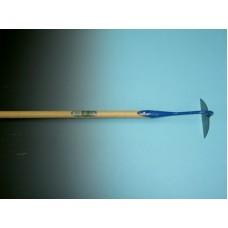 Bietenhak gesmeed 18 cm. met steel met excentrische punt