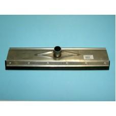 Mestschuiver PROLINE ROESTVRIJSTAAL 55 cm. met dul versteviging + steel