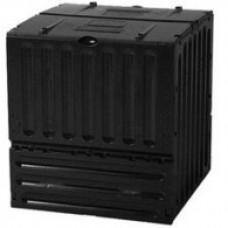 Compostvat Eco King 600 liter zwart