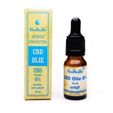CBD Olie 6% Olijf