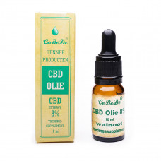 CBD Olie 8% Walnoot