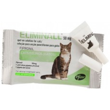 Eliminall 50 mg Spot-on Katten 3 pip