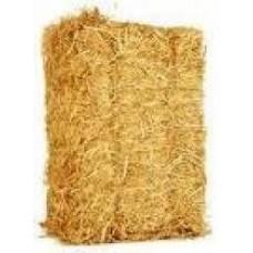 Boeren tarwe stro